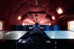 Lunch for free is going to be served highly in the air to the gentlemen (AlexM00dy) Tags: abandoned moody urbex explore urbanexploration decay