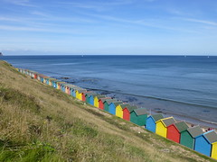 Whitby Beach-Huts - 11 Sept 2016 (bruvvaleeluv) Tags: whitbynorthyorkshirecoastseasidebeach huts beachhuts