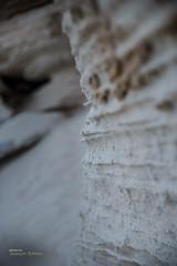 Corner in the sandstone (Oddiseis) Tags: formentera balearicislands spain ithak island sandstone sand boulders beach tramuntana escaldesantagust coast litoral shadows shore grey lines eroded sediments mediterranean stone ancient tamron247028 rocks