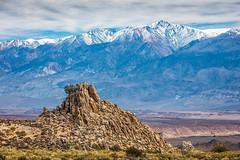 White Mountains (Kirk Lougheed) Tags: california easternsierra owensvalley usa unitedstates whitemountains autumn fall landscape mountains outdoor rockformation snow