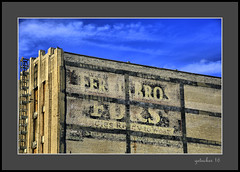Ferris Bros Furs (the Gallopping Geezer '4.4' million + views....) Tags: sign signage paint faded worn ghostsign building structure wall painted decay decayed ad advertise advertisement product ferrisbrosfurs flint mi michigan saginawstreet tonemap tonemapped canon 5d3 tamron 28300 geezer 2016