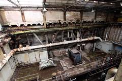 Compressor hose (slaterspeed) Tags: winnington soda ash works turbine hall compressor house turbo stage abandoned derelict