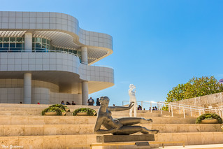 Entrance to The Getty