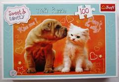 Kiss me! (Leonisha) Tags: puzzle jigsawpuzzle puzzleschachtel puzzlebox