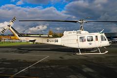 G-UHGB 01 (GH@BHD) Tags: guhgb bell bell205 uh1 huey helilift heliliftservices ulsterflyingclub newtownardsairfield newtownards helicopter chopper rotor aircraft aviation