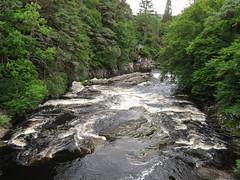 Untamed through the woods (rimerbl) Tags: rivermoriston invermoriston scotland river woodland forest canon unitedkingdom lochness water rapids schotland outdoor