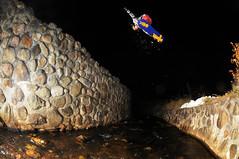 Jonathan B. - Bs 180 (Pickle Photography) Tags: snowboarding snowboard snowboarder river gap monttremblant tremblant nikon d300 stepchild friends