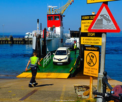 Scotland west coast Largs car ferry Loch Riddon unloading cars from the island of Cumbrae 16 August 2016 by Anne MacKay (Anne MacKay images of interest & wonder) Tags: scotland west coast largs caledonian macbrayne car ferry loch riddon cars island cumbrae xs1 16 august 2016 picture by anne mackay westcoast lochriddon cumbraeisland vehicularferry outdoor transport carferry 16august2016 picturebyannemackay signs wharf dock wharvesaroundtheworld