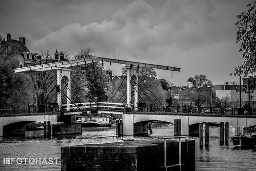De Magere brug over de Amstel