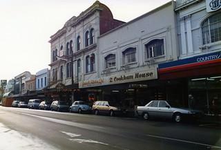 George Street, Dunedin, 1987