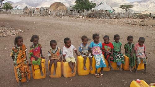 Djibouti_2014 - Enfants à Dougoum (Tadjourah)