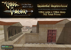 Gods of Valor - Residential Neighborhood Ad (Filipa Thespian) Tags: ancientrome ancientroman rome roman italy roleplay secondlife