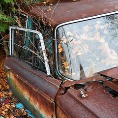 DSC_0084 v2 (collations) Tags: ontario mcleansautowreckers autowreckers wreckers automobiles autos abandoned rockwood derelict junkyards autograveyards carcemeteries