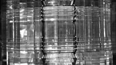 bringing light to the world (byronv2) Tags: edinburgh edimbourg scotland museum nationalmuseumofscotland royalmuseumofscotland chambersstreet history blackandwhite blackwhite bw monochrome lens lighthousestevensons stevenson engineering science optics lighthouse pharos lamp light 1867 thomasstevenson