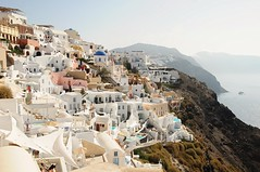 Close living . (john a d willis) Tags: greece greekisle santorini oia caldera