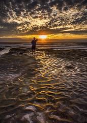 Photographer (Eunice Eunjin Oh) Tags: sandiego sunset photographer goldenhour lajolla water sky seascape skyscape clouds outdoorphotography leefilter