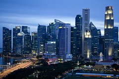 Singapore, room with a view 1 (veronicajwilliams photography) Tags: veronicajwilliamsphotography veronicajwilliams travelphotography travel singapore canon canon5dmarkii canon2470mm canon2470mmf28l singaporeskyline architecture dusk twilight