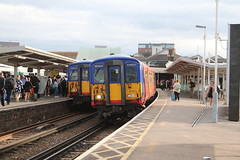 455701/731   South West Trains   Clapham Junction (Jacob Tyne) Tags: class 455 4557 4558 4559 swt south west trains clapham junction emu electrical multiple units