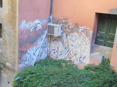 185 (en-ri) Tags: bologna wall muro graffiti writing blu old vecchio scrostato viso volto faccia face
