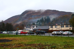 2016 - 13.11.16 Aberfoyle (15) (marie137) Tags: aberfoyle marie137 scotland mist mountain hill town water country