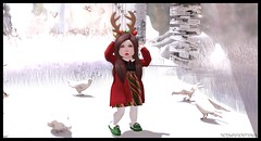 Pretty Little Reindeer (delisadventures) Tags: free freebie slfreebie fashion fashino asian secondlife fashions fashionblog fashin fasf slfashion slfashionblog slfashionblogger slfashions slfashin slfashino babyfashion urbanfashion seconlifefashion secondlifefashion secondlifefashionblog second secondlifeblog christmas autumn thanksgiving winter cold weather dress reindeer red green dresses paloma bird toddleedoo toddle tinytrinkets tiny toddleedoos toddler toddleddoo trinkets td top snow snowy snowflakes sl slblogger slblog slbaby slevents slblogg slbog slkids slbabe slfamily summer spring slaccessories sunshine summertime sweater stars snowman