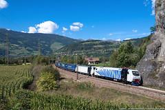La zebra vien dalla montagna (Damiano Piovanelli) Tags: treno treni trenitalia railtractioncompany rtc rail zebra bombardier locomotiva lok eu43003 brennero brennerbahn
