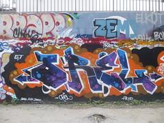 Orel (novembre 2016) (Archi & Philou) Tags: graffiti murpeint paintedwall streetart frigos orel paris13