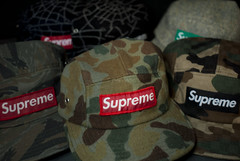 Supreme Camp Caps. (Nicholas Fung) Tags: supreme box logo camp cap hat spring summer fall winter camo camouflage woodland duck tiger spider web donegal wool tweed rare og vintage