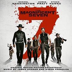 MAGNIFICENTSEVEN2016CD (ESP1138) Tags: the magnificent seven 2016 james horner simon franglen sony masterworks records compact disc album cover sountrack