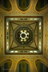 Jumeirah Mosque Ceiling (priscellie) Tags: dubai uae unitedarabemirates mosque jumeirah jumeirahmosque islam