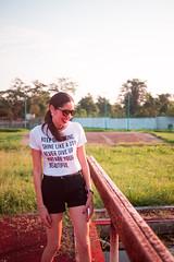 "(Isai Alvarado) Tags: vanesa model woman glasses lips smile portrait stock sunlight light soft street urban cute sun hair short legs field lovely sexy hot bokeh dof focus blur cine cinema cinematic film movie 35mm nikon d800 ""isai alvarado fotografía"""