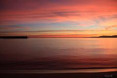 No me canso de esta localizacin... <3 (lesxanes) Tags: amanecer sunrise luanco asturias seascape beach playa marina coast costa canon70d mar quietness