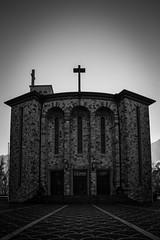 Hl. Kreuz Kirche (raimundl79) Tags: wow bestpicture blackwhite blackandwhite bludenz lightroom lndle austria architecture kirche church nikon nikond800 photographie schwarzweiss stadt vorarlberg