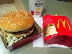 Big Mac Meal (koborin) Tags: travel washingtondc mcdonalds bigmac unionstation