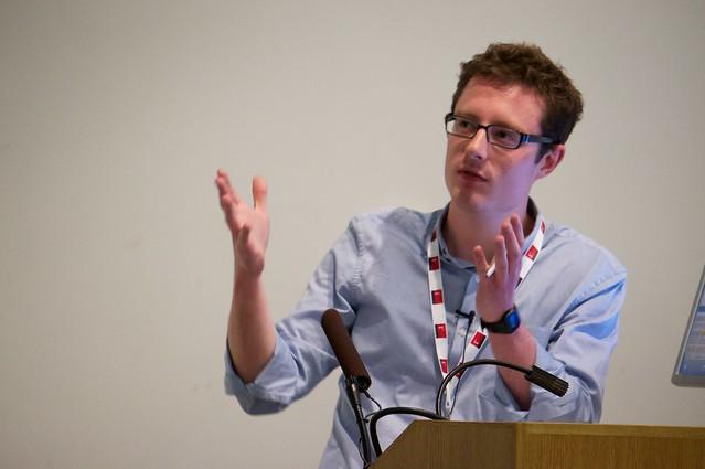 David Cornforth at IWMW13