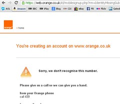 orange are useless (gregwake) Tags: orange mobile telephone cellphone 3g ee 4g mobiletelephone poorservice