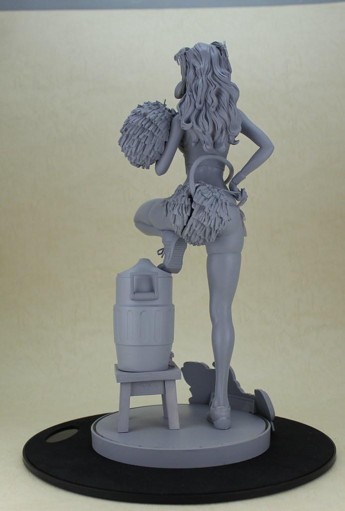 WING – Rockin'Jelly Bean 「惡魔啦啦隊」雕像 原型曝光