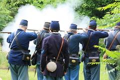 IMG_1309 (temeraire06) Tags: civilwar goosecreek reenactors loudouncounty upperville loudounvalley gettysburgprelude companyc20thmaine