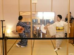 Japanese Fan Dance (music4mark) Tags: costumes ladies london beautiful japan japanese tokyo dance pretty culture style geisha kimono lovely earlscourt japanesewomen hyperjapan