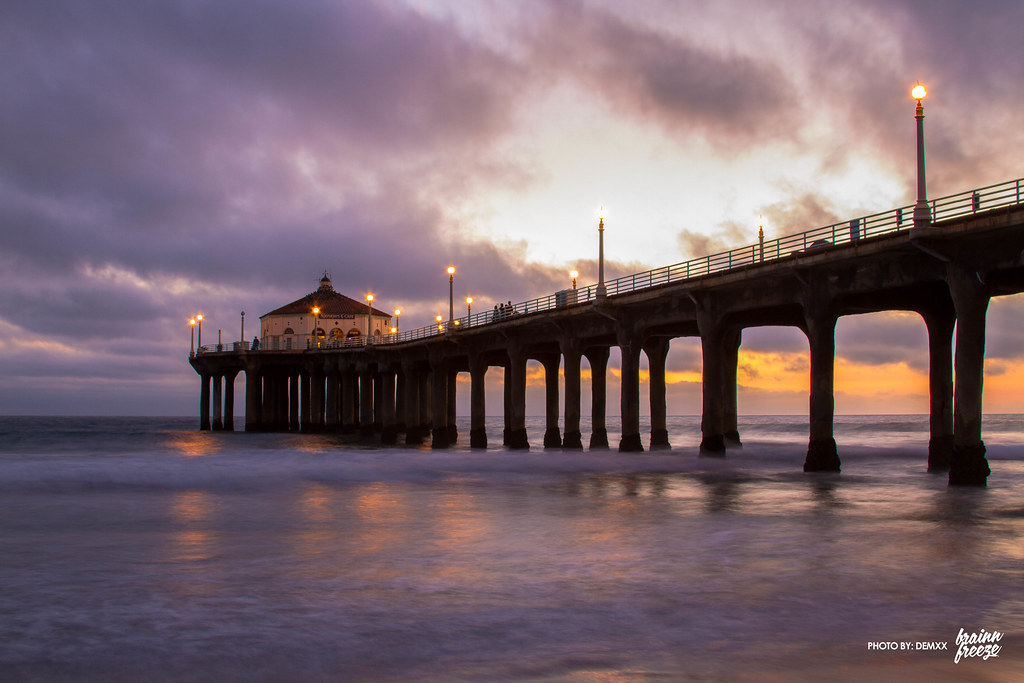 Manhattan Beach Pier by demxx, on Flickr