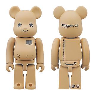 日本亞瑪遜紙箱 BE@RBRICK 100% & 400% 同時登場!