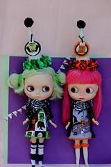 Halloween dress and hat set
