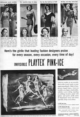 46 1951 (Undie-clared) Tags: girdle playtex pinkice