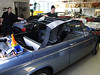 BMW 1600:02 Vollcabrio Original-Line Renolit-flexglas Verdeck Montage