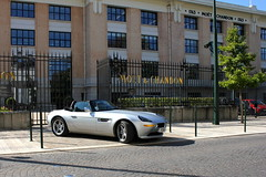 BMW Z8 Moet & Chandon, Epernay, France (Rev426) Tags: uk france classic silver james cool europe good champagne charlie bmw bond spotted reims epernay 007 moet z8 chandon v354fmp altbmwz8