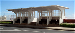 Hastings seafront shelter (Philip Watson) Tags: sussex seaside promenade artdeco hastings seafront shelter deco