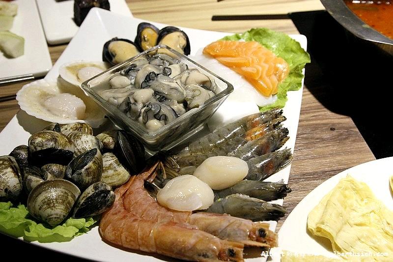 海鮮拼盤($450)