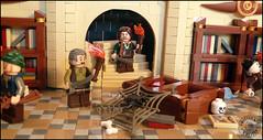 The Forbidden Library (sweetsha) Tags: lego library pirates dop moc brickpirate duelofpirates