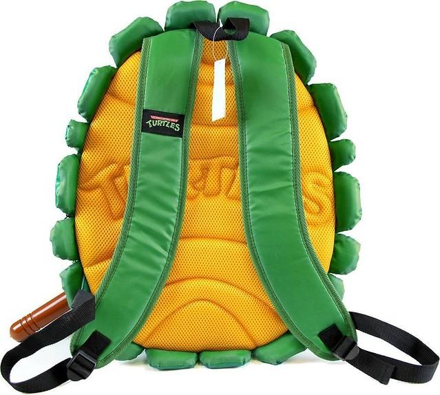一秒變身忍者龜!~ 忍者龜 龜殼背包這次還搭配了武器組合!