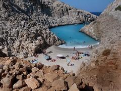 Stefanou beach (Seitan Limania) (Sly 66) Tags: beach crete kriti akrotiri stefanou chordaki seitanlimania